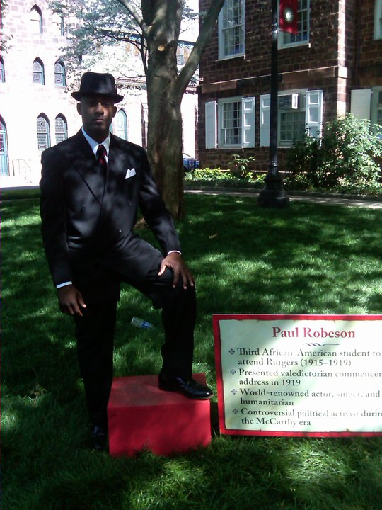 """Paul Robeson for """"Rutgers Day"""""""