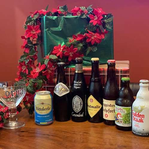7 Days to a Belgian Christmas Advent Pack + Trappist Glass
