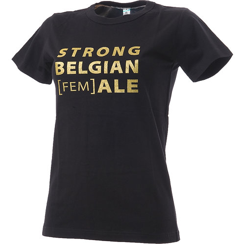 STRONG BELGIAN [FEM]ALE SHIRT
