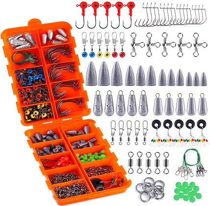 230 pcs Fishing Accessories Kit