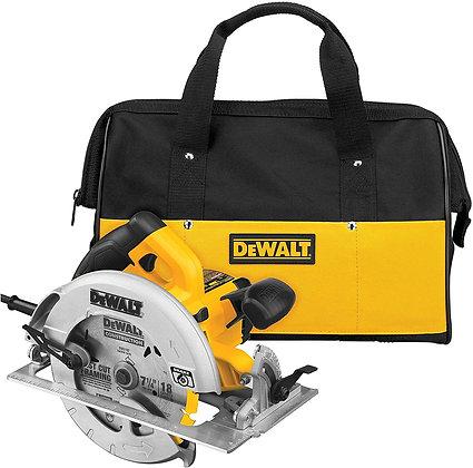 DEWALT 7-1/4-Inch Circular Saw with Electric Brake, 15-Amp, Corded