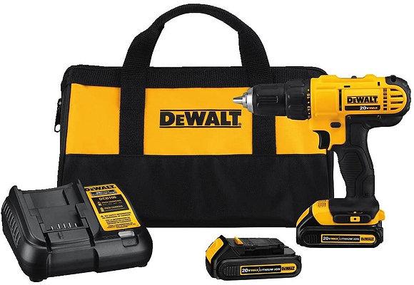 DEWALT 20V MAX Cordless Drill/Driver Kit with Screwdriver/Drill Bits