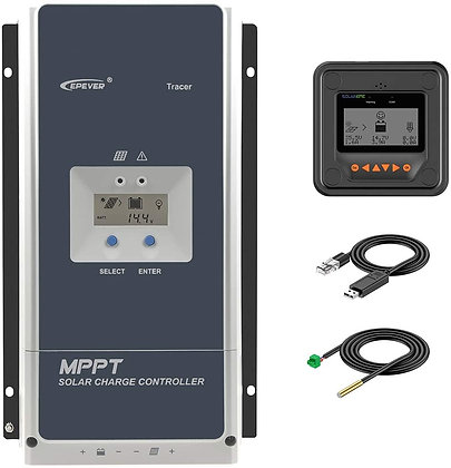 EPEVER MPPT Solar Charge Controller 50A Negative Ground