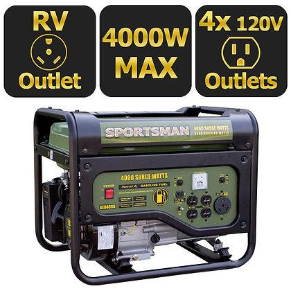 Sportsman 4,000/3,500-Watt Gasoline Generator