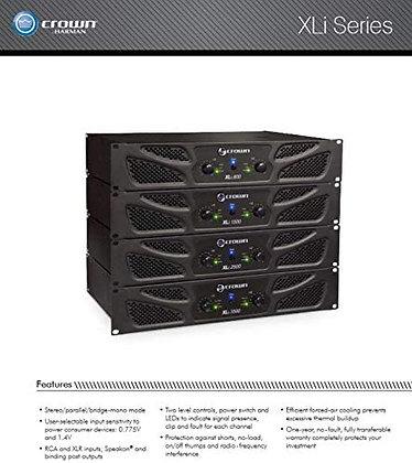 Crown Two-Channel Power Amplifiers