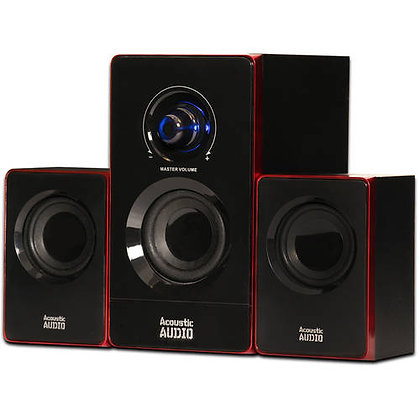 Acoustic Audio 200 Watt Bluetooth 2.1 Computer Speaker System