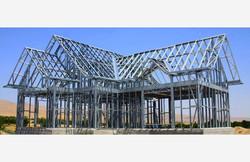 Step #3: Steel Framing of Home