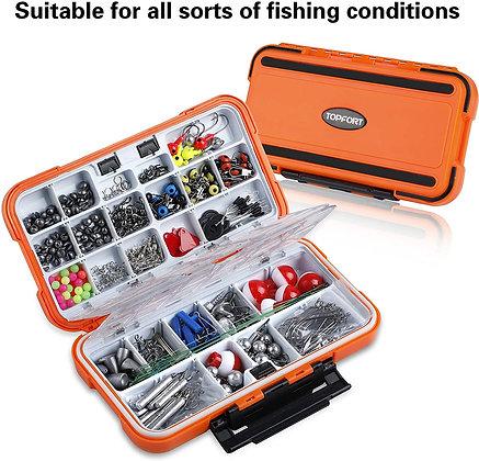 343pcs Fishing Accessories Kit