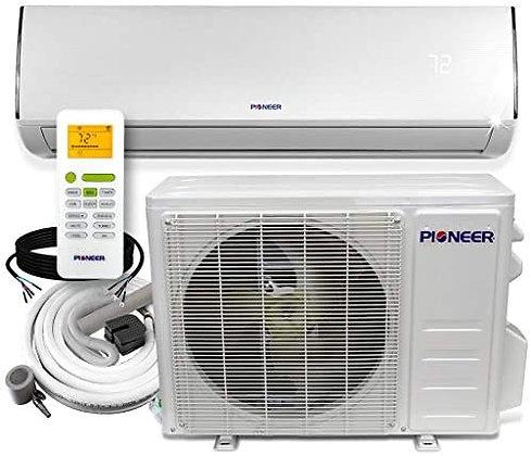Pioneer Ductless Mini-Split Air Conditioner - Heat Pump Kit