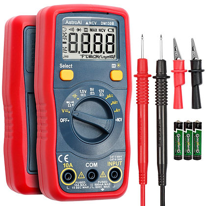 Digital Multimeter Auto-Ranging/DMM with Non-Contact Voltage Function