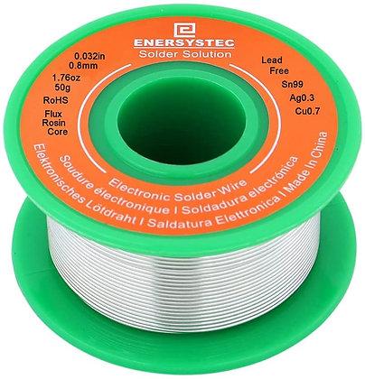 Lead Free Solder Wire Rosin Core Flux 0.8mm Electric Solder Fine