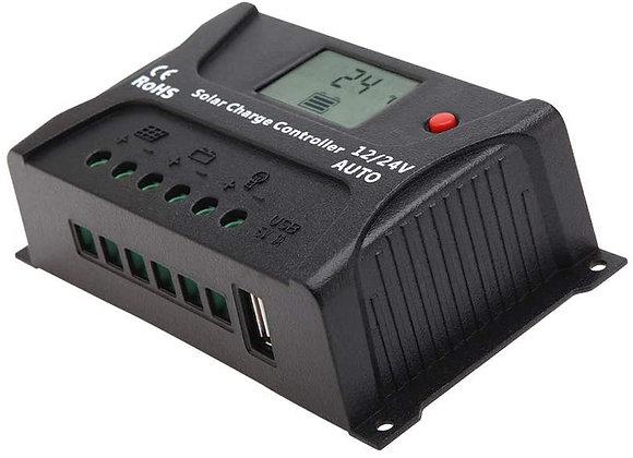 HQST Solar Charge Controller 12V 24V Auto, 30 Amp