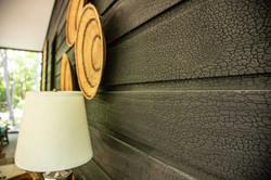 Modern Chard Wood Exterior Paneling
