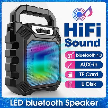 Portable Wireless Bluetooth Stereo  /Aux/USB/TF/FM Karaoke Machine