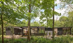 Modern Chard Wood Exterior Home 4