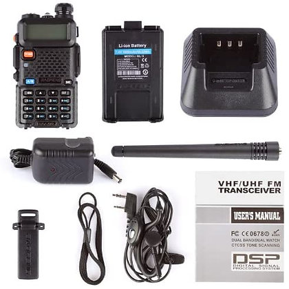 Baofeng UV-5R Two Way Radio Dual Band 144-148/420-450Mhz Walkie Talkie