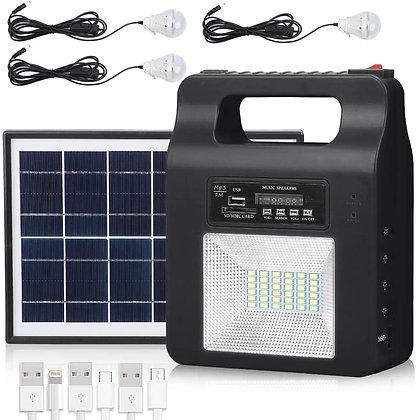 Portable Solar Generator Light Kit