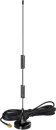 Bingfu VHF UHF Ham Radio Police Scanner Antenna Magnetic Base
