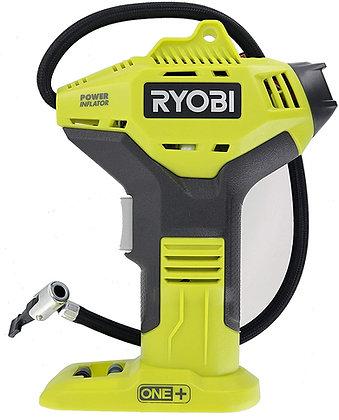 Ryobi Portable Power Inflator for Tires  [18-Volt] [Cordless]