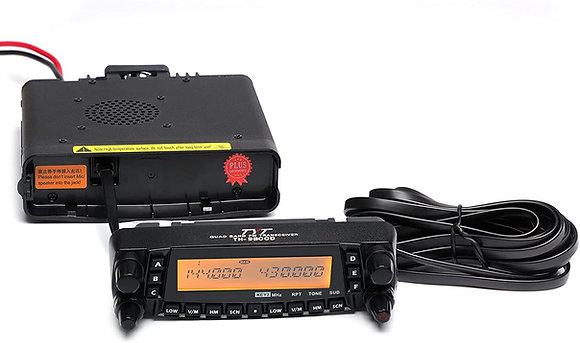 TYT TH-9800D Quad Band Cross-Band 50W Mobile Transceiver