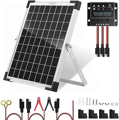 SUNSUL 20 Watt 12V Solar Panel Kit