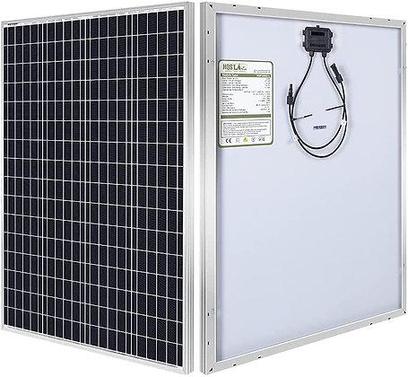 HQST 100W 12V Monocrystalline Solar Panel