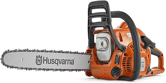 "Husqvarna 120 II 16"" Gas Chainsaws, Orange"