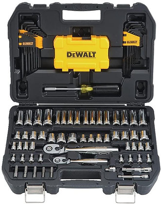 DEWALT 142-Piece Mechanics Tool Kit and Socket Set