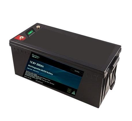Qychex 12 Volt 200 Ah LifeP04 Lithium Battery