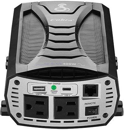 Cobra Power Inverters - 400W, 500W, 1500W, 2500W, 3000W