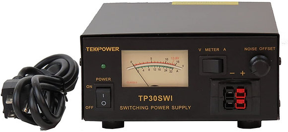 TekPower Analog Display 30 Amp DC 13.8V Switching Power Supply