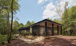 Modern Chard Wood Exterior Home 3