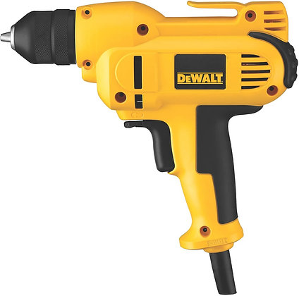 DEWALT Corded Drill, 8.0-Amp, 3/8-Inch, Variable Speed Reversible