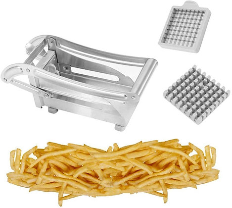 French Fry Cutter, Stainless Steel Fries Slicer