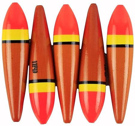 5pcs Slip Bobbers for Fishing - Slider Float