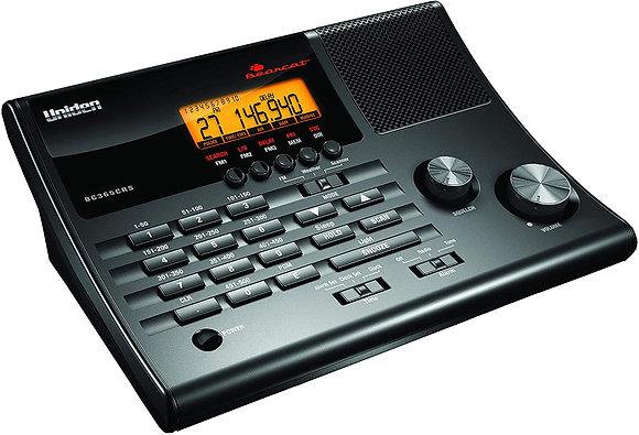 Uniden 500 Channel Clock/FM Radio Scanner with Weather Alert