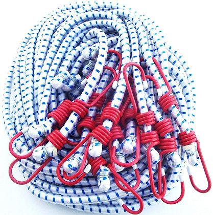 Bungee cord Heavy Duty 12PC Bag Coated Hooks (36 Inch)