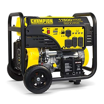 Champion 9200/11,500 Watt Generator, electric start