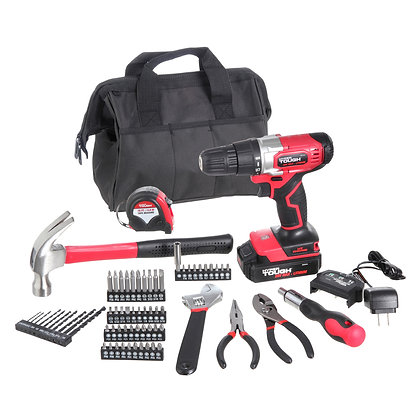 20V Max 3/8-in. Cordless Drill & 70-Piece Shop Tool Set