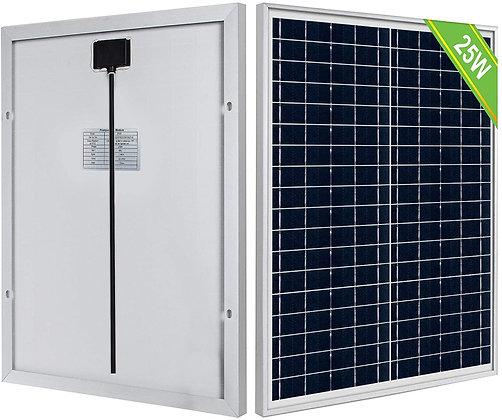 ECO-WORTHY 25 Watt 12 Volt Solar Panel