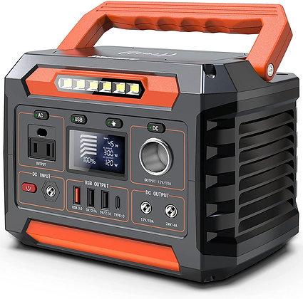 300W Portable Power Station, 299Wh/80818mAh Solar Generator