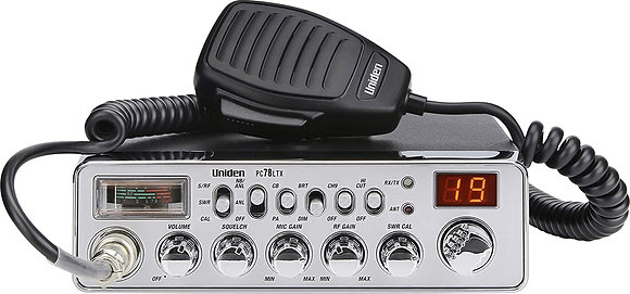 Uniden 40-Channel Trucker's CB Radio with Integrated SWR Meter