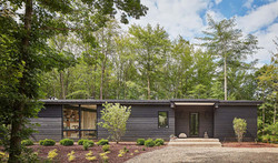 Modern Chard Wood Exterior Home 2