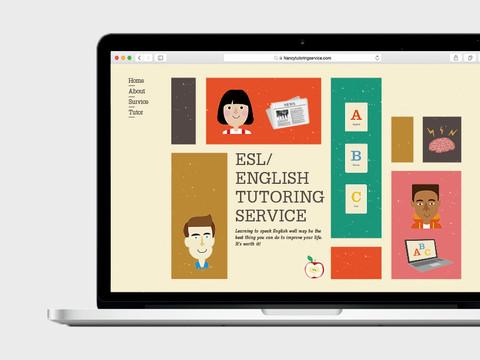 Nancy's ESL tutoring service