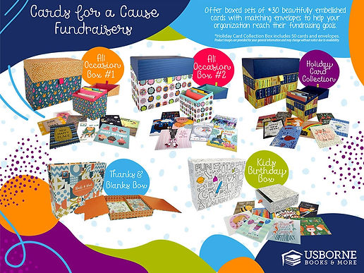 Cards for a Cause, boxes of greeting cards