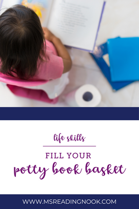 Fill your Potty Book Basket