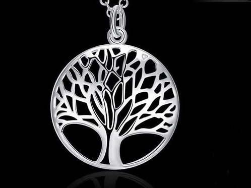 Sterling Silver Tree of Life  Pendant and Chain