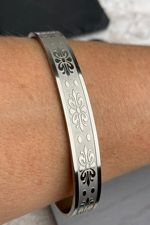 STAINLESS STEEL MAGNETIC THERAPY BANGLE
