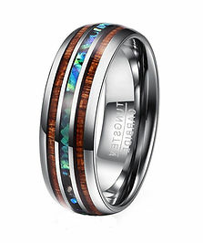 Abalone and Koa Tungsten Ring.JPG
