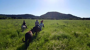 horseback riding texas hill country private ranch